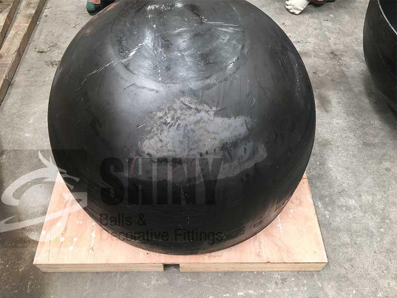 Mild Steel Hemispheres Steel Spheres Steel Sculpture And