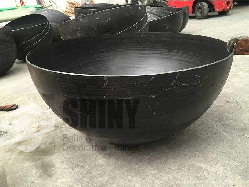 Mild Steel Hemispheres Steel Spheres Steel Sculpture And Fire Pit Ball Manufacturer