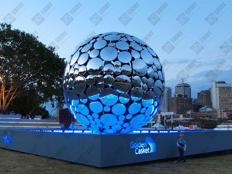 Stainless Steel Pattern Sphere Steel Spheres Steel