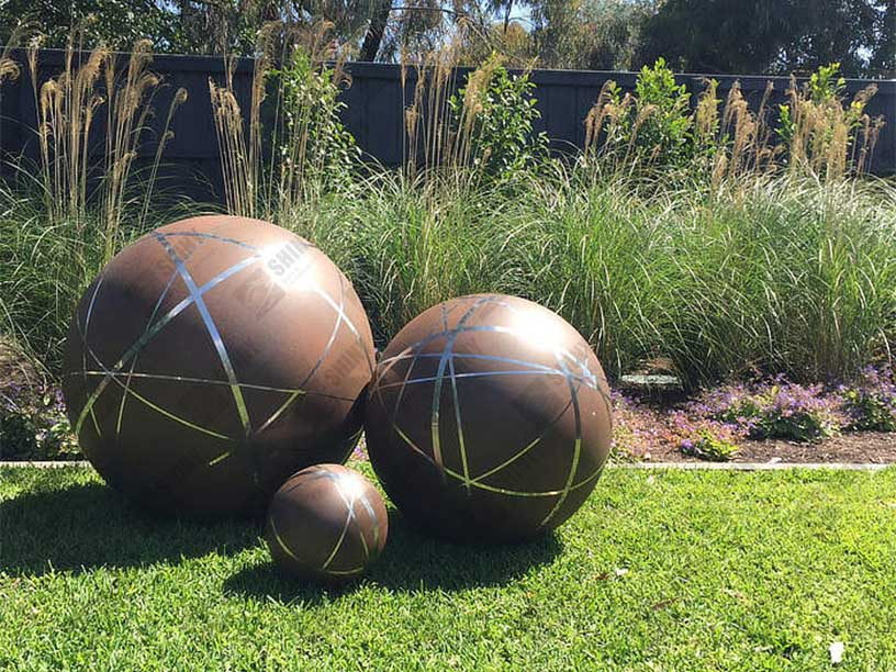 Hollow Steel Spheres Steel Spheres Steel Sculpture And